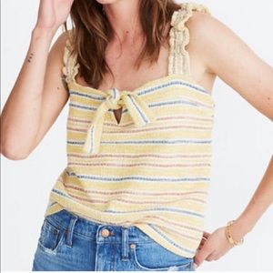 Madewell Texture & Thread striped top